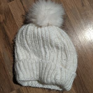 Accessories - Sequin Pom Pom hat
